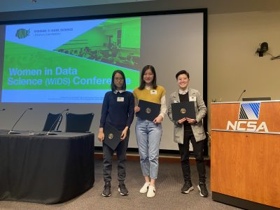 Women In Data Science Day Poster winners!